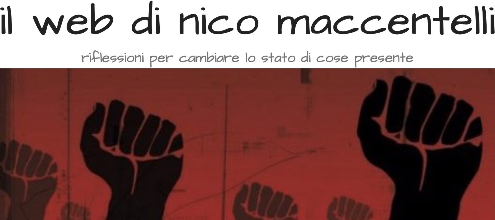 il web di nico maccentelli